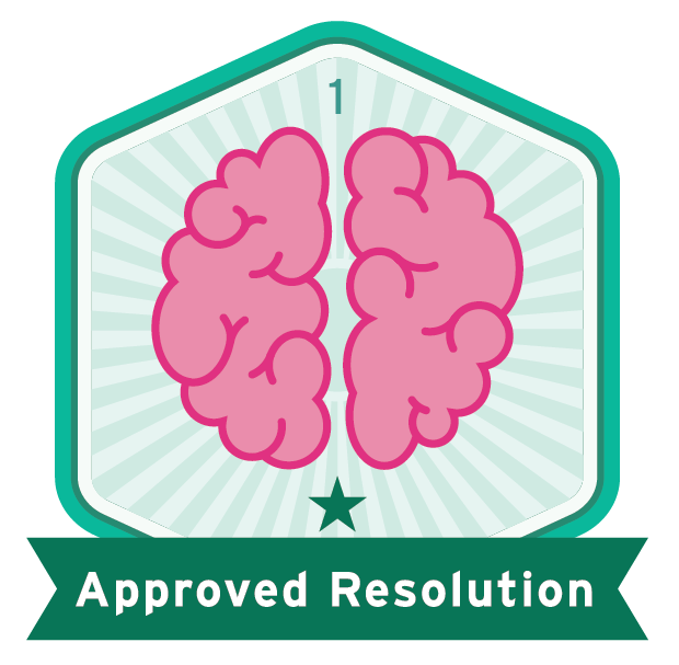 Approved Resolution
