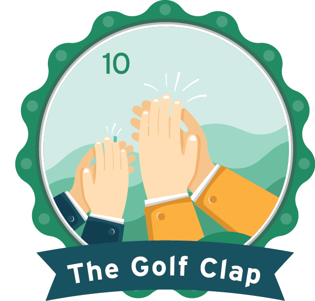 The Golf Clap