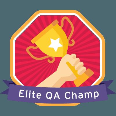Elite QA Champ