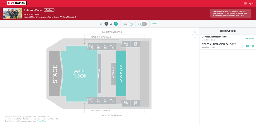 Screenshot of Tickets _ Yacht Rock Revue - Chicago, IL at Live Nation.png