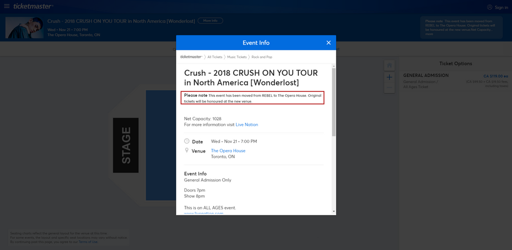 Screenshot of Tickets _ Crush - 2018 CRUSH ON YOU TOUR in North America [Wonderlost - Toronto, ON at Ticketmaster.png