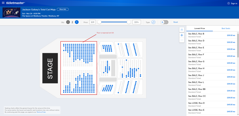 Screenshot of Tickets _ Jackson Galaxy's Total Cat Mojo - Westbury, NY at Ticketmaster.png