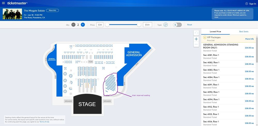 Screenshot of Tickets _ The Magpie Salute - Pasadena, CA at Ticketmaster.jpg