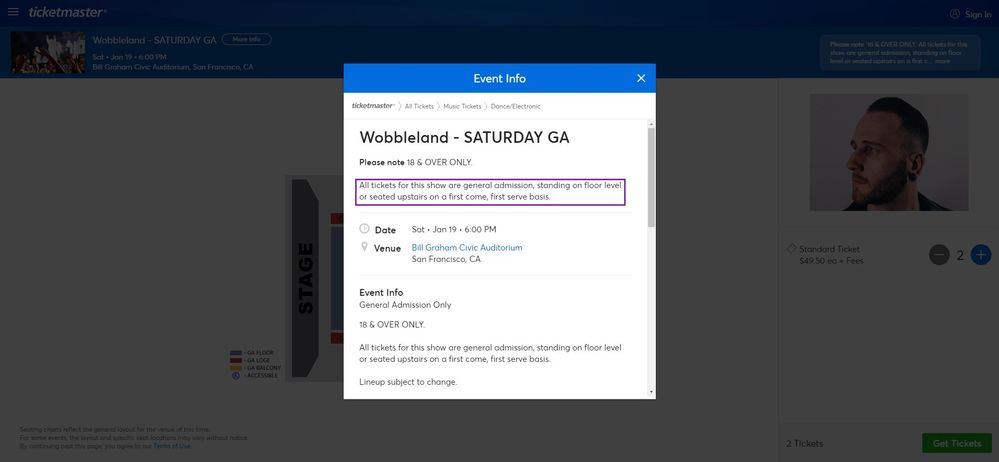 Screenshot of Tickets _ Wobbleland - SATURDAY GA - San Francisco, CA at Ticketmaster.jpg