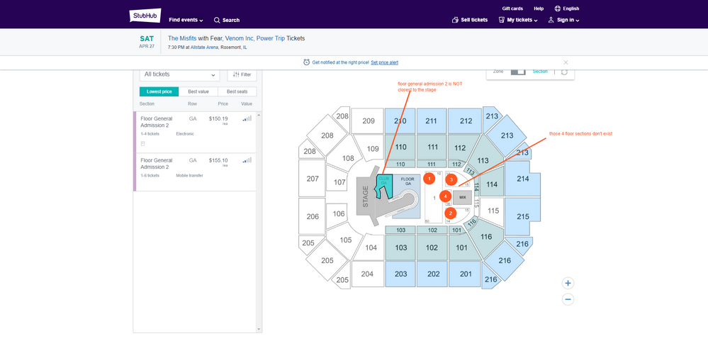 My Images for ticketmvp - StubHub Community on oracle arena map, greensboro coliseum complex, arco arena map, chicago wolves, wintrust arena, staples center, bmo harris bank center map, nassau veterans memorial coliseum, talking stick resort arena map, valley view casino center, little caesars arena, smoothie king center map, soldier field map, oracle arena, nrg stadium map, sprint arena map, quicken loans arena, wells fargo center, ford center map, sears centre arena map, joe louis arena, u.s. bank arena map, scottrade center, world arena map, td garden, jobing arena map, salinas sports complex map, germain arena map, levi's stadium, the palace of auburn hills map, gampel pavilion map, bankers life arena map, mandalay bay arena map, at&t center, xl center, united center, amalie arena map, honda center,