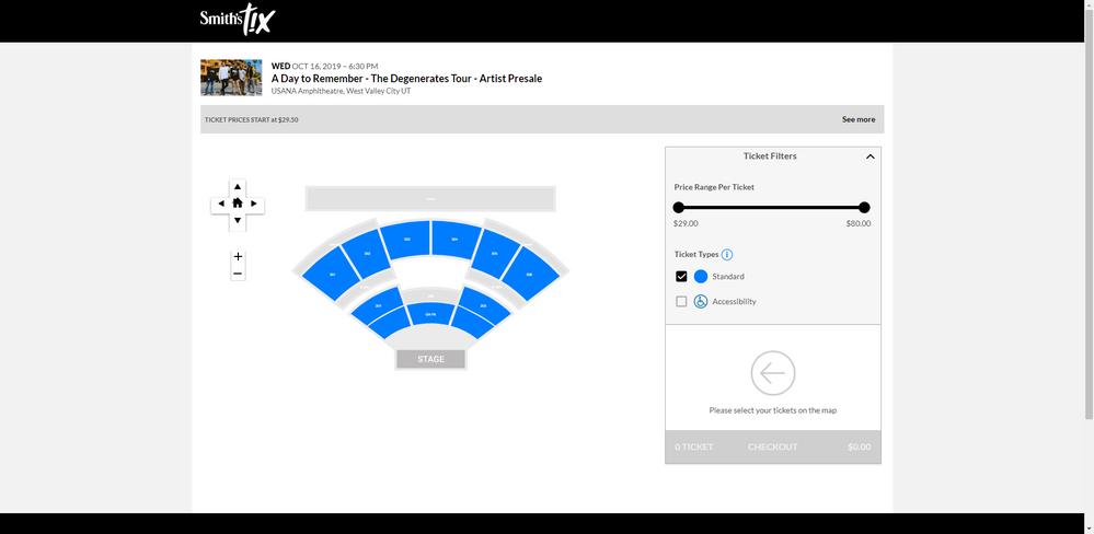 Screenshot of USANA Amphitheatre - Ticketing System.png