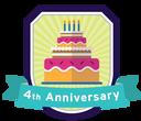 4th Anniversary