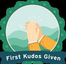 Give 1st Kudos