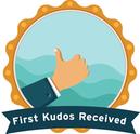 Receive 1st Kudos
